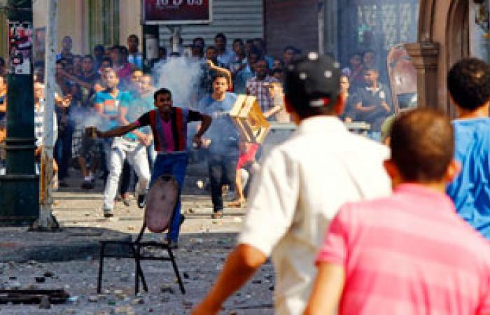 اشتباكات بين الإخوان والأهالى سيرتهم بمنطقة السيوف بالإسكندرية