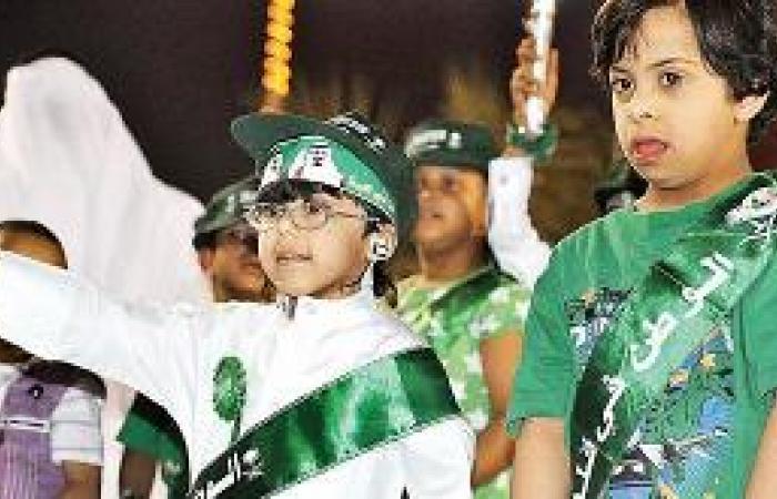 جمعية المعاقين تساهم في تنظيم احتفالات اليوم الوطني