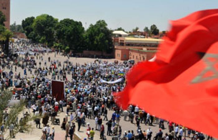 """تظاهرة فى الرباط ضد """"غلاء المعيشة"""" والحكومة"""