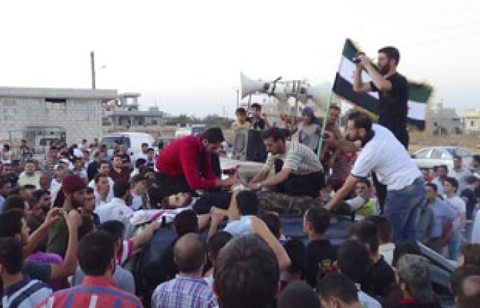مقتل أمير تنظيم تابع للقاعدة فى اشتباكات مع الجيش السورى الحر بإدلب