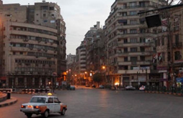 هدوء بالتحرير وانسحاب مدرعة شرطة من الميدان
