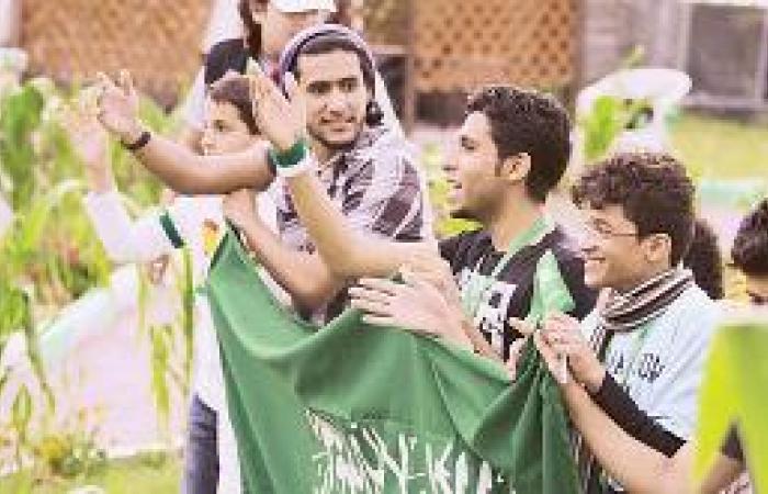 المشاركون في «إجازتي سعودية» يحتفون بيوم الوطن