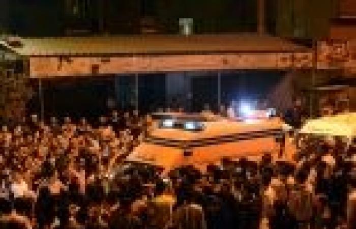 نقل مصابي كنيسة الوراق إلى مستشفى المعادي العسكري