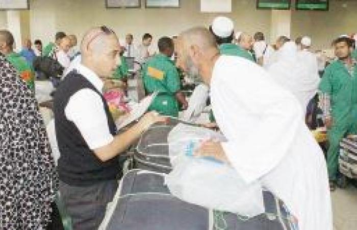 31 ألف حاج غادروا المدينة عبر مطارها الدولي