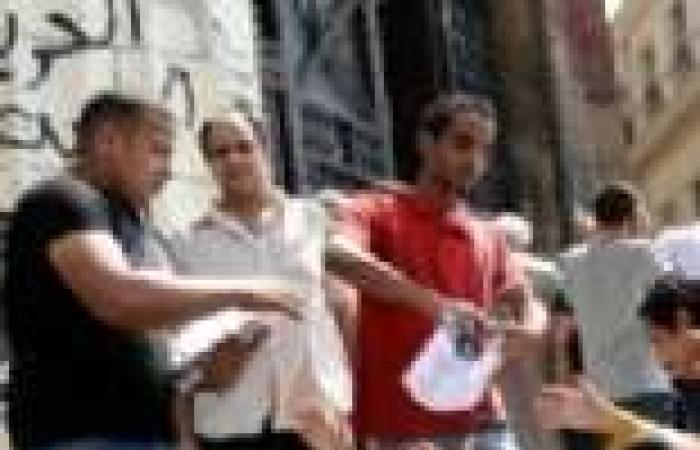 مظاهرات أمام دار القضاء العالي للمطالبة بتوقيع معاهدات مناهضة التعذيب