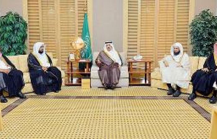 أمير القصيم يستقبل عميد كلية الشريعة ومدير فرع الإسكان