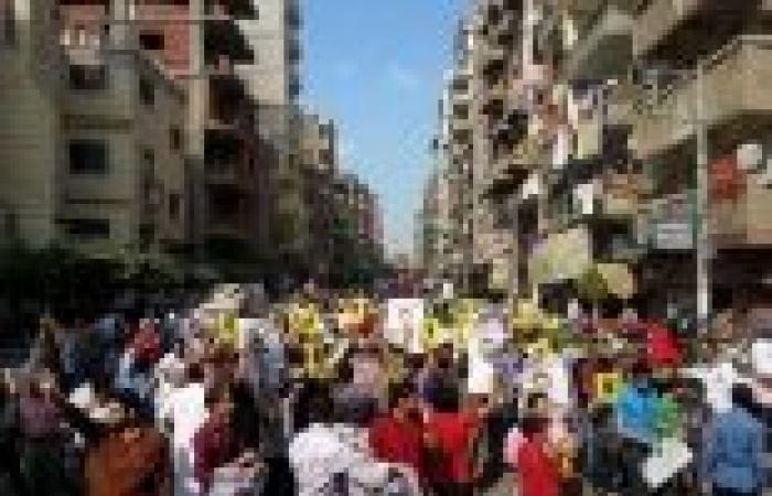 مسيرات لمؤيدي المعزول بالمنوفية.. والأمن يلقي القبض على 16 متظاهرًا بشبين الكوم
