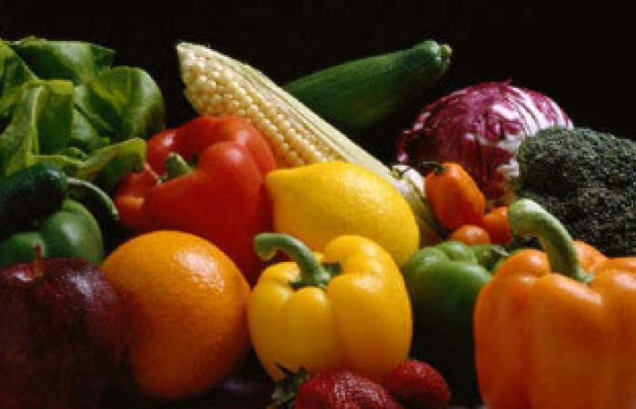 تناول الخضروات والزبادى مهم للحصول على هضم صحى