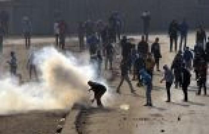 """الأمن يفض مسيرة لـ""""الإخوان"""" في أكتوبر.. وعناصر """"الجماعة"""" يردون بـ""""المولوتوف"""""""