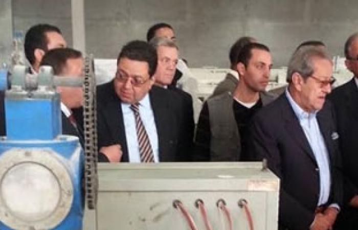 زياد بهاء الدين يفتتح مصنعين فى أسيوط لإنتاج الألبان والبلاستيك