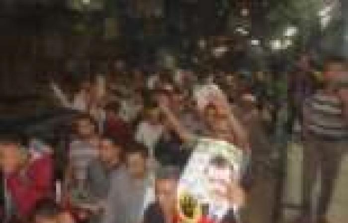 الأهالي يتصدون لمسيرة إخوانية تدعو للحشد لـ25 يناير بدمياط