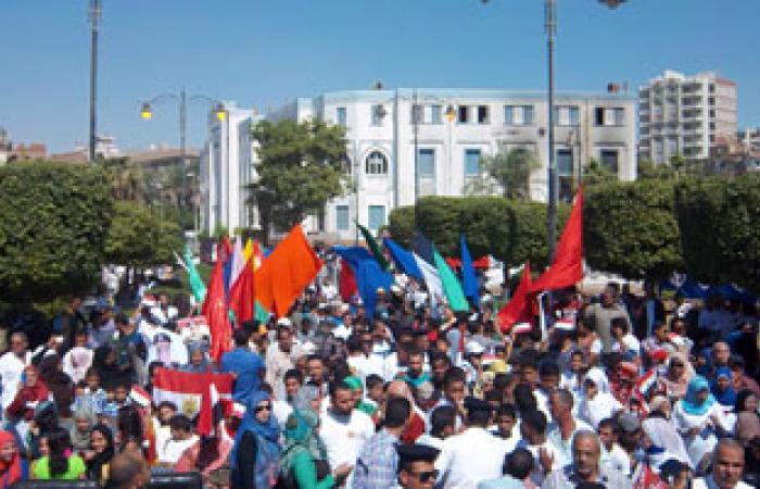 شيوخ القبائل يدعون شعب السويس للاحتفال بالثورة بميدان الأربعين