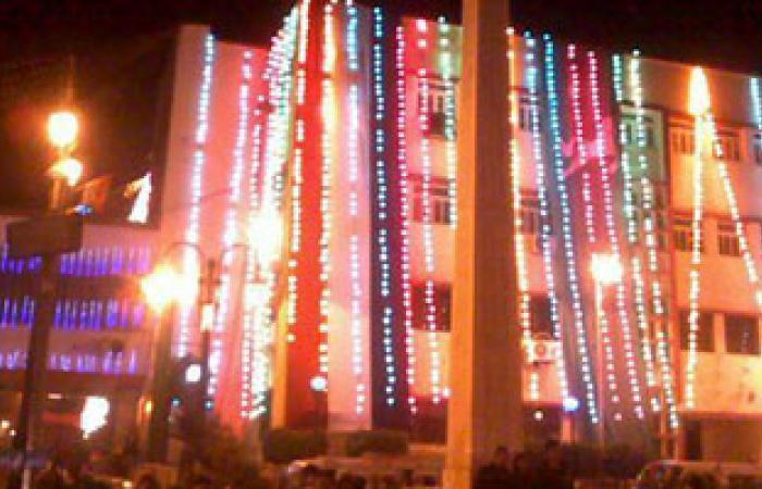 ديوان عام محافظة الشرقية يتزين للاحتفال بذكرى يناير