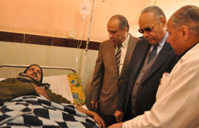 جندى أصيب بحادث بنى سويف: ضابط الكمين لم يكن متواجدًا وقت وقوع الحادث