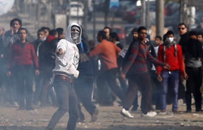 """4 مصابين فى اشتباكات الأهالى وعناصر """"الإخوان"""" ببنى سويف"""