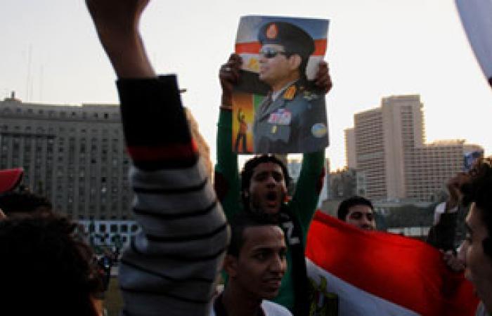 تزايد أعداد المتوافدين علي التحرير للاحتفال بذكري ثورة 25 يناير