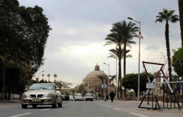 انتظام امتحانات التعليم المفتوح بجامعة القاهرة وتشديد أمنى على البوابات