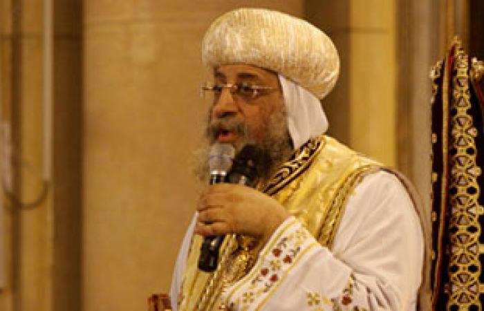 البابا تواضروس ينهى خلاف الاعتراف بالقديسة مهرائيل