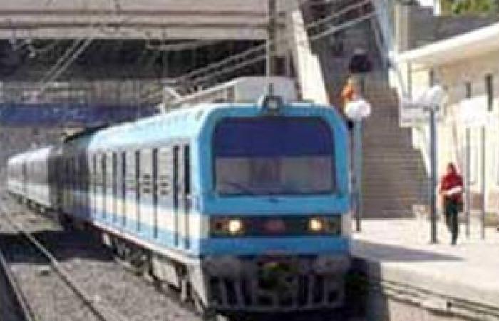 رئيس المترو: استمرار تشغيل خط المرج حلوان والسيطرة على التظاهرات