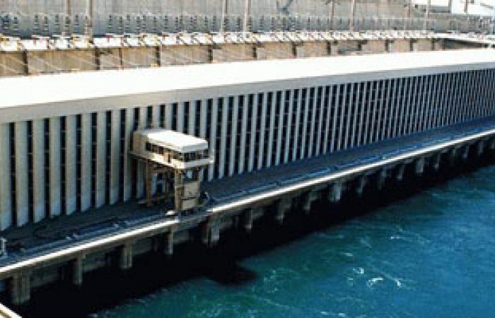 تراجع منسوب النيل أمام السد العالى بمقدار واحد سم مكعب