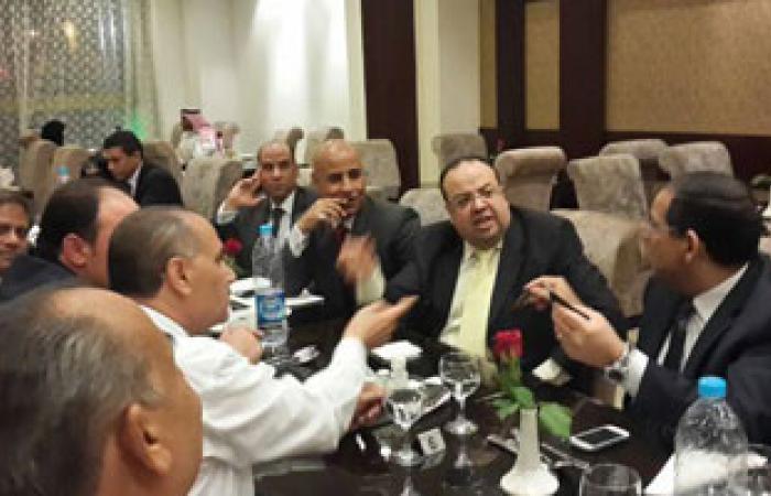 اتحاد المصريين بالخارج يحتفل بترقية سفير مصر بالرياض