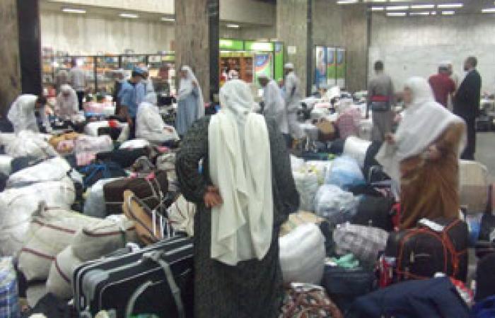 المطار يستقبل 266 معتمرا فلسطينيا قادمين من جدة لدخول غزة عبر رفح