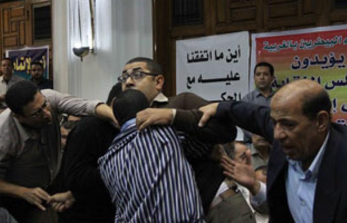 مشادات كلامية بسبب الإخوان فى الجمعية العمومية للبيطريين