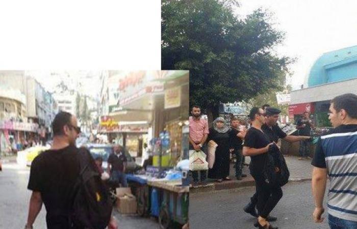 بالصور.. «نظمي» يثير الجدل بـ«بنطلون فيزون» في «نابلس».. والشرطة تحميه