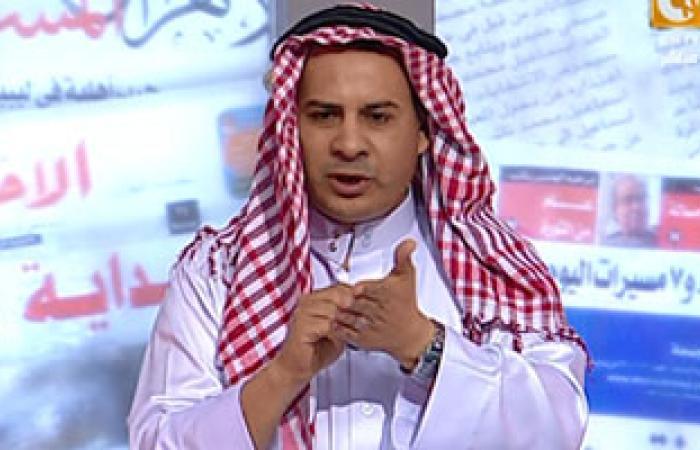 بالفيديو..جابر القرموطى يظهر ببرنامجه على الهواء مرتديًا زيا خليجيا