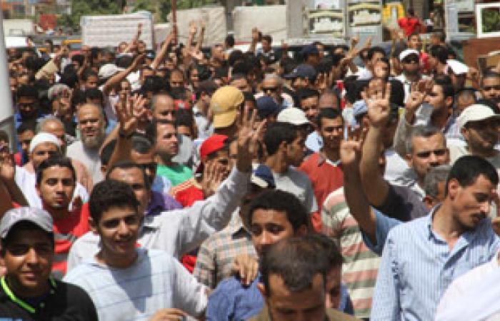 مسيرة لعناصر الإخوان تنطلق من شبرا الخيمة باتجاه المطرية
