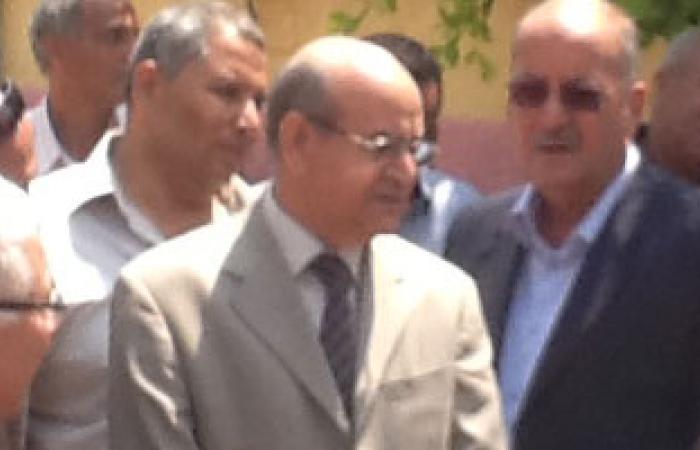 محافظ الجيزة يتفقد مدرسة باسم أحد الشهداء بالبدرشين