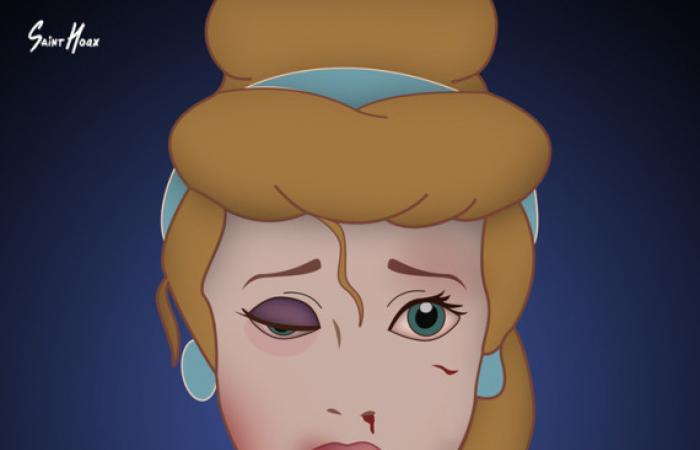 بالصور.. أميرات «ديزني» يكافحن «العنف الأسري»