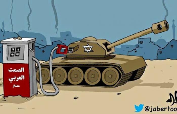 بالصور.. رسامو الكاريكاتير العرب أسرع تفاعلًا مع غزة من حكوماتهم