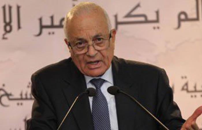 نبيل العربى يلتقى رئيس المجلس الأعلى للشباب والرياضة الفلسطينى