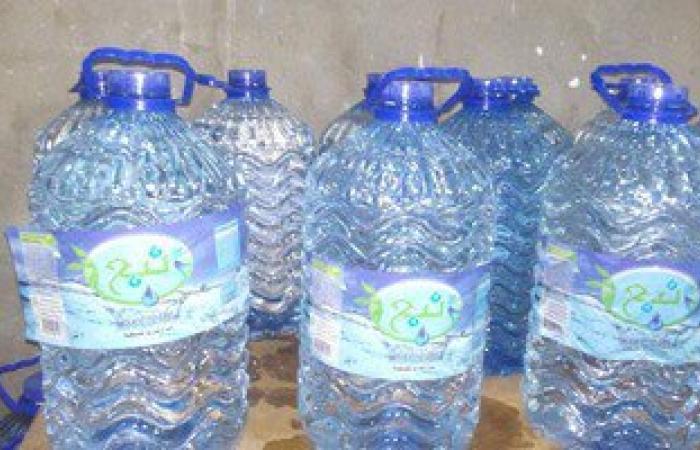 مباحث تموين الغربية تضبط محطة مياه مقطرة بدون ترخيص فى طنطا