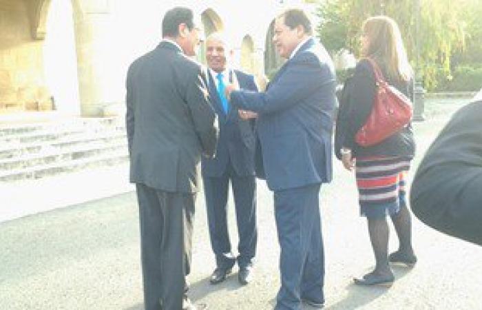 الرئيس القبرصى يتفقد التجهيزات الأخيرة بالقصر الرئاسى قبل وصول السيسى