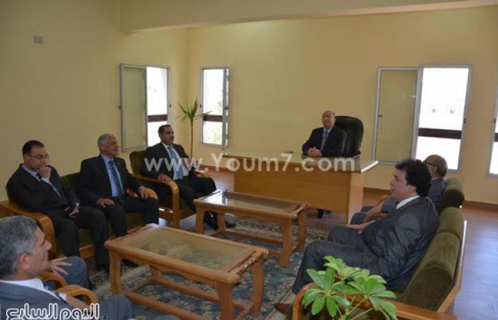 نائب محافظ الإسماعيلية والسكرتير العام يفتتحان مأمورية استئناف جنوب سيناء