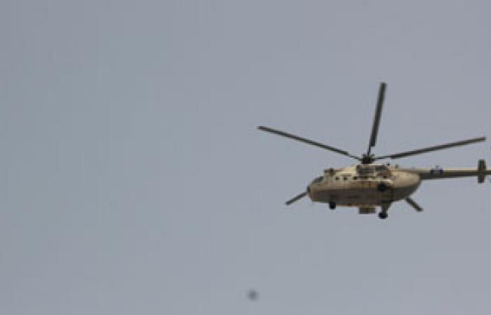 قصف جوى لمعاقل مسلحين جنوب الشيخ زويد وشرق العريش