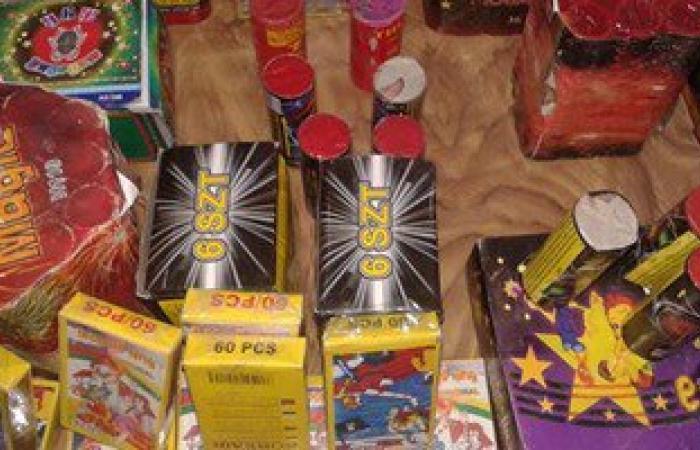 القبض على عاطل وبحوزته 5463 صاروخ ألعاب نارية فى الإسماعيلية