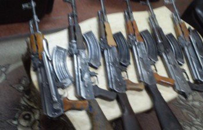 ضبط 15 قطعة سلاح نارى بدون ترخيص بحوزة متهمين بالمنيا