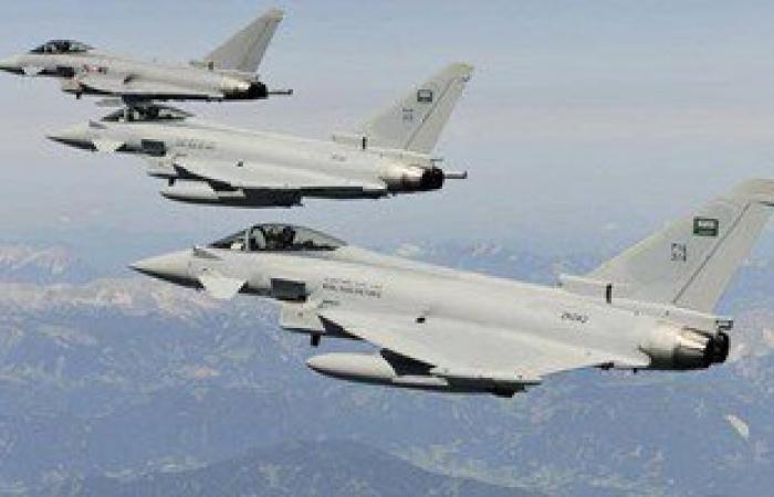 طائرات التحالف تقصف مواقع للحوثيين فى حجة