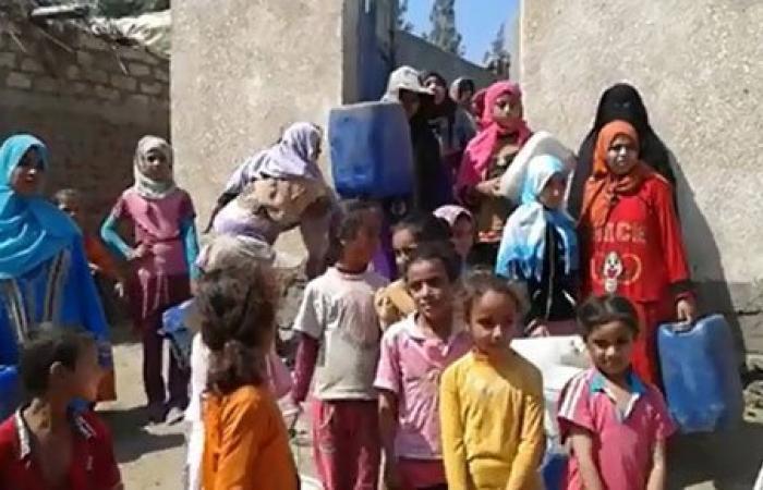 بالصور أهالى قرية الظواهرية بالشرقية يصرخون من قطع مياه الشرب من أول رمضان