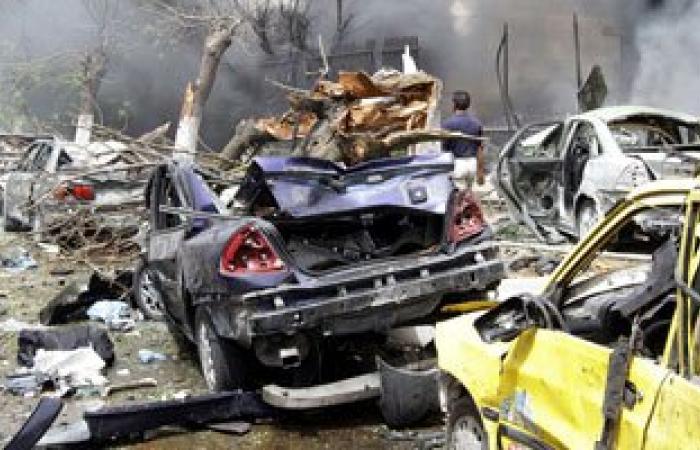 مقتل 4 جنود فى انفجار سيارة ملغومة قرب بنغازى بليبيا