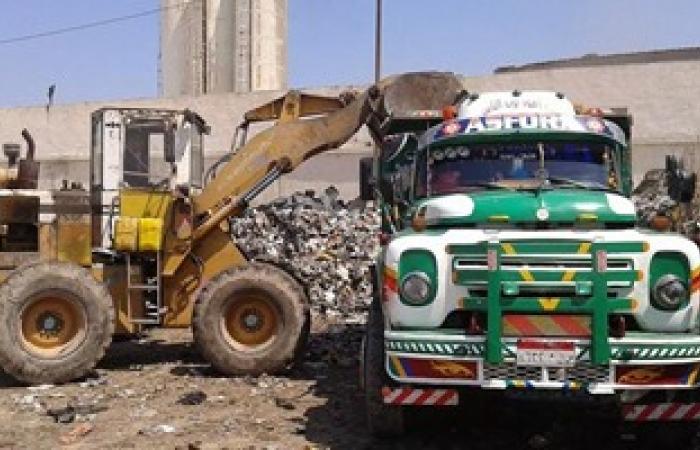 حى غرب يرفع 32 طن مخلفات بالإسكندرية
