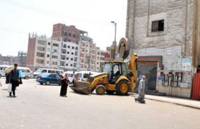 إزالة 63 حالة إشغال طريق بطريق البلاجات وقرية نفيشة فى الإسماعيلية