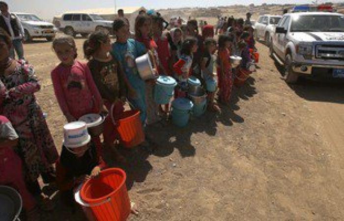 منظمة الهجرة: النازحون فى العراق تخطوا عتبة ثلاثة ملايين شخص