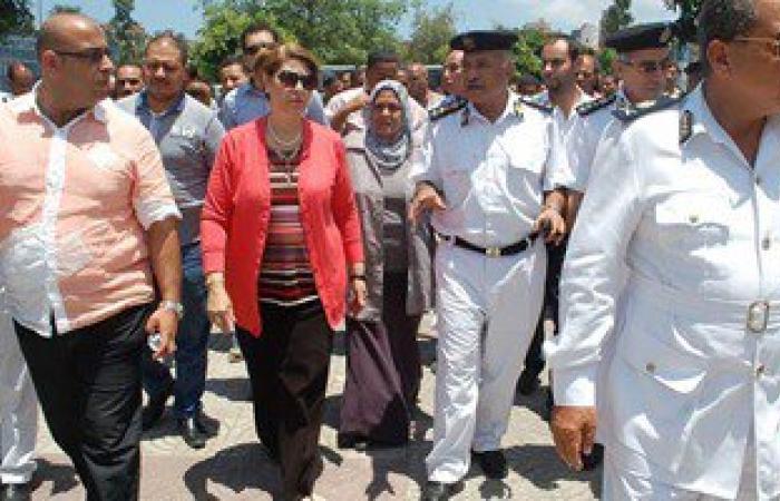نائب محافظ الإسكندرية تتفقد تطبيق منظومة النظافة