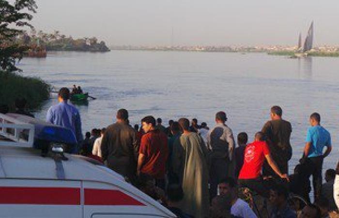 الإنقاذ النهرى يبحث عن ضحايا حادث انقلاب سيارة بترعة الإبراهيمية بالمنيا