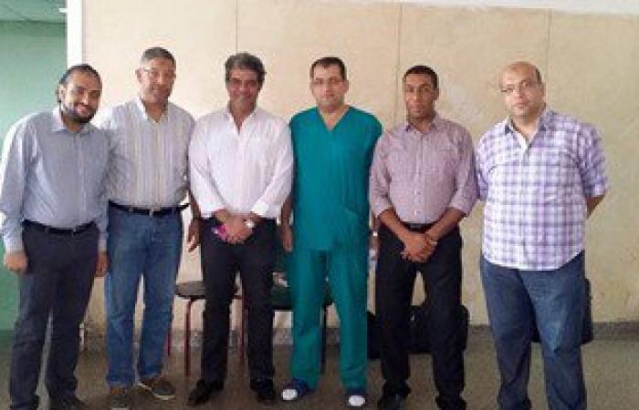 انطلاق جراحات علاج  تشويهات العمود الفقرى بجامعة الزقازيق