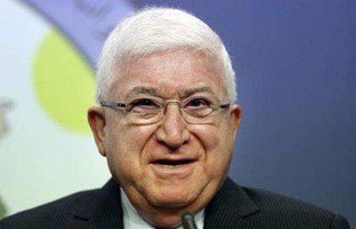 الرئيس العراقى: نتمنى أن يكون عيد الفطر بداية انتصار العراق على الارهاب